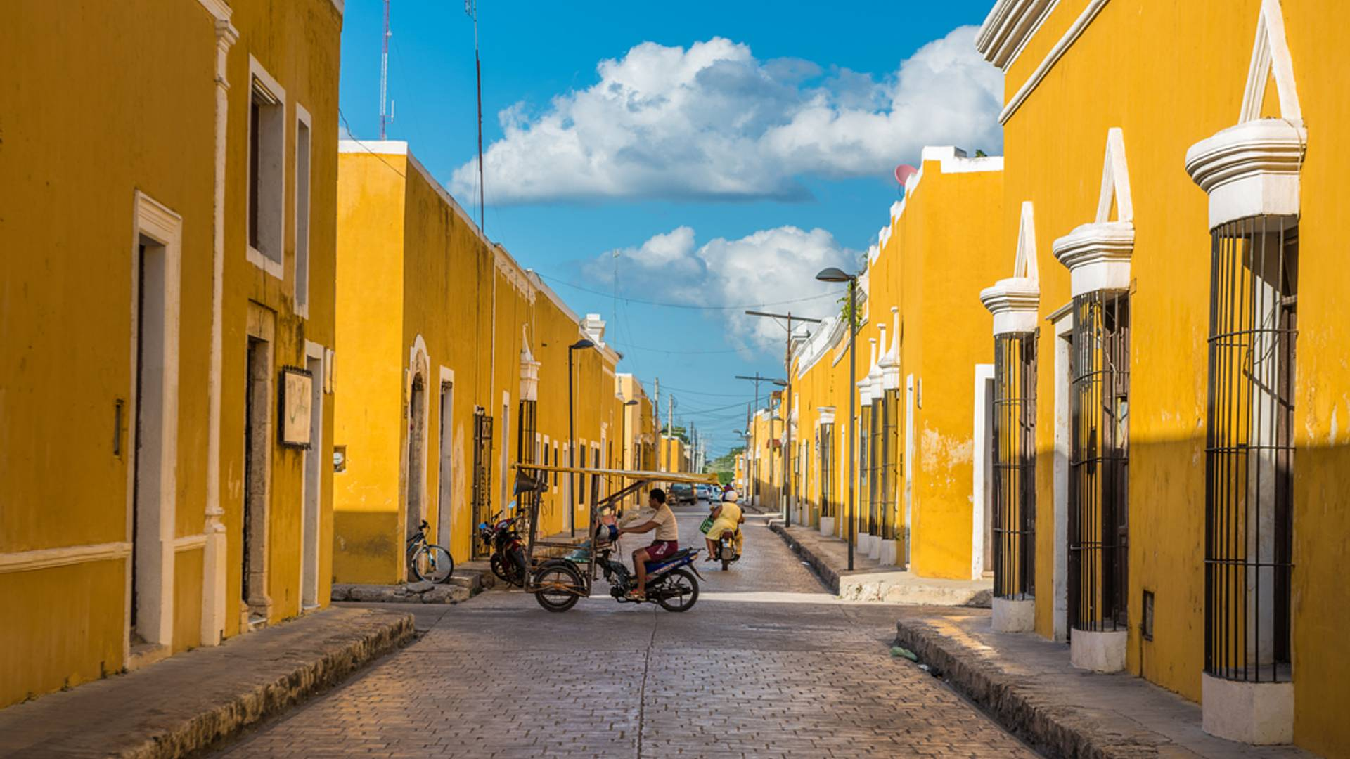 Haciendas et vestiges mayas