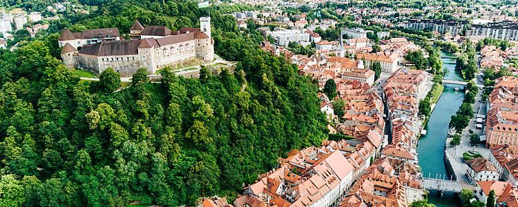 Escapada a Liubliana con chófer y guía privado