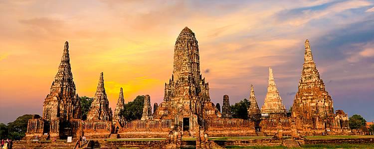 Bangkok, fiume Kwai, Ayutthaya e Koh Samet
