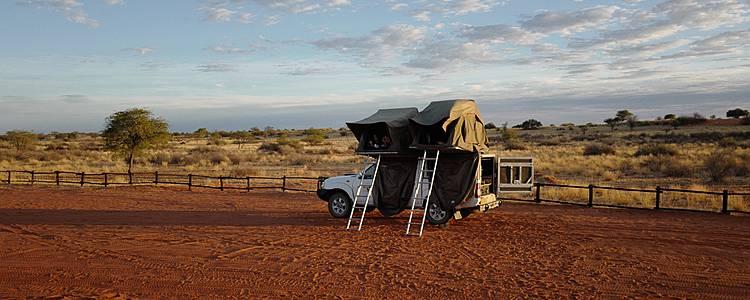 Mit dem Camper von Windhoek bis zu den Victoria Falls