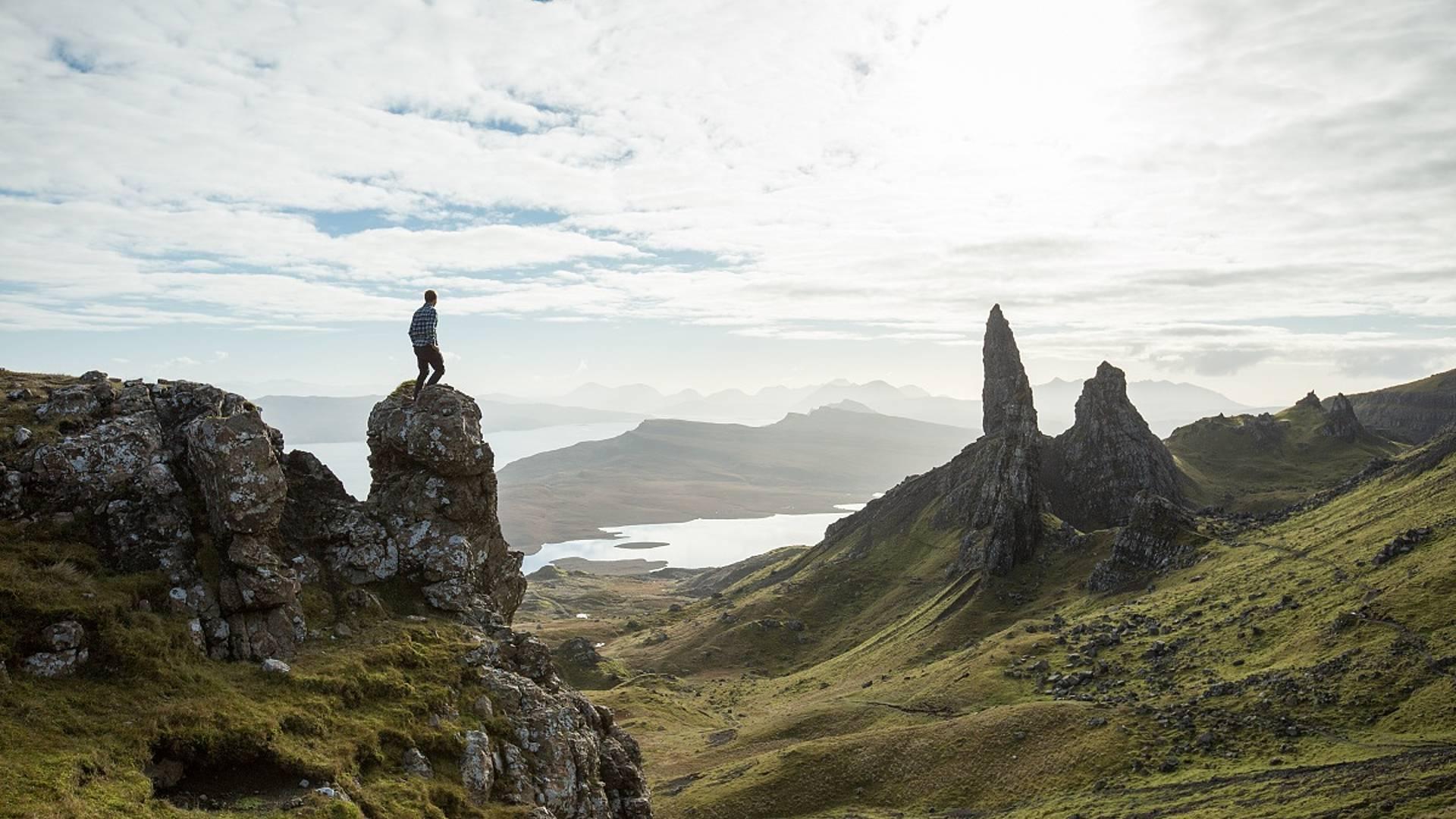 Randonnée en étoiledans les Highlands