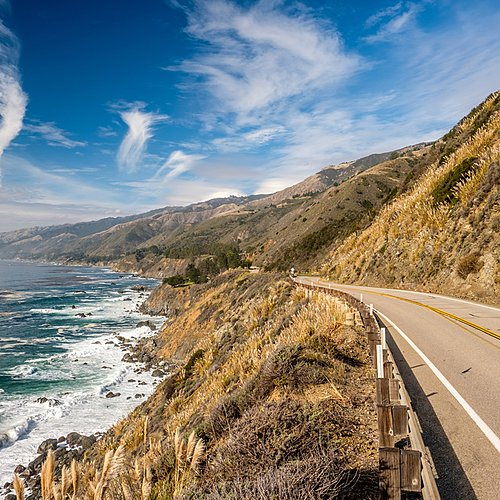 Le long de la Pacific Highway -