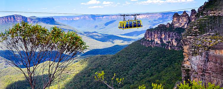 Blue Mountains, Uluru and the Great Barrier Reef