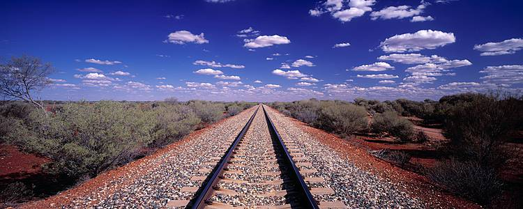 Coastlines and outback train journey