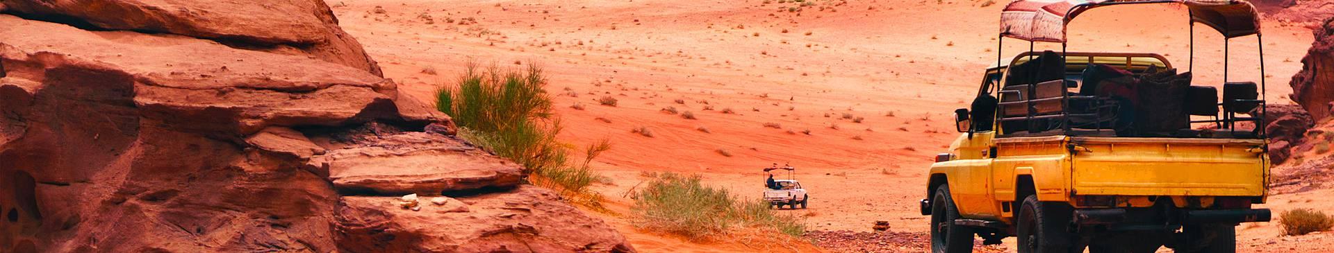 Road trip en Jordanie