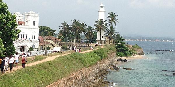 Le phare de Galle