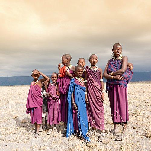Savane et lagons en famille-en bivouac - Kilimandjaro -
