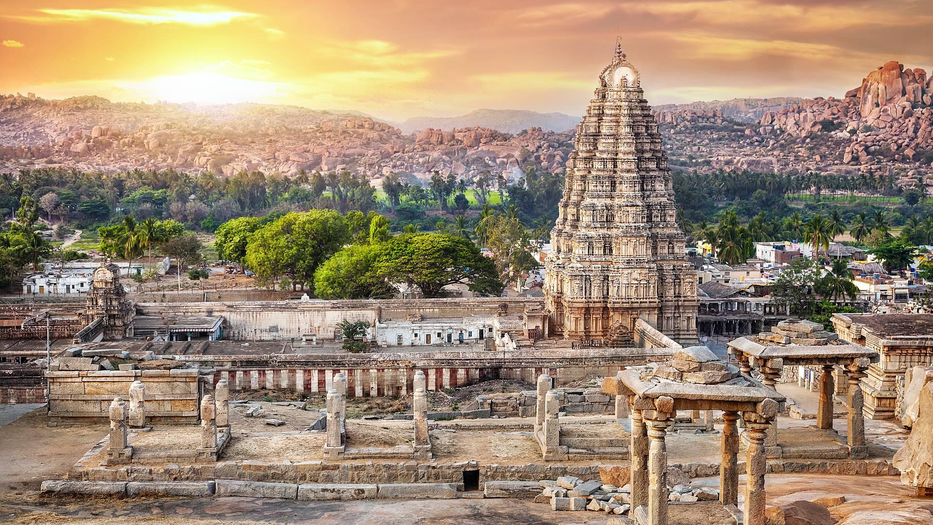Tour histórico de la India