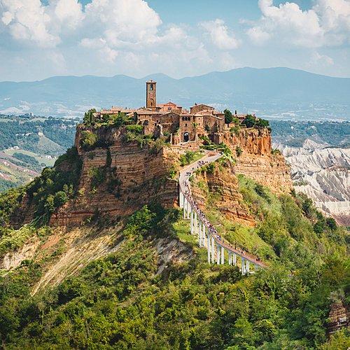 La via Francigena: d'Orvieto à Rome -