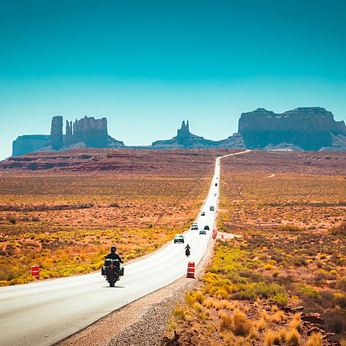 Go West Wonder Tour en Harley -