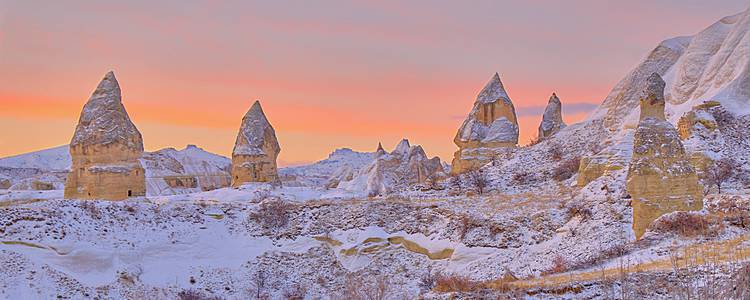 Central Anatolia Snowshoeing