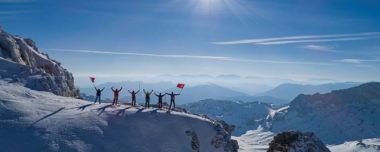 Ski Mountaineering in Anatolia