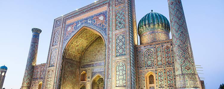 Bezaubernde Städte Usbekistans