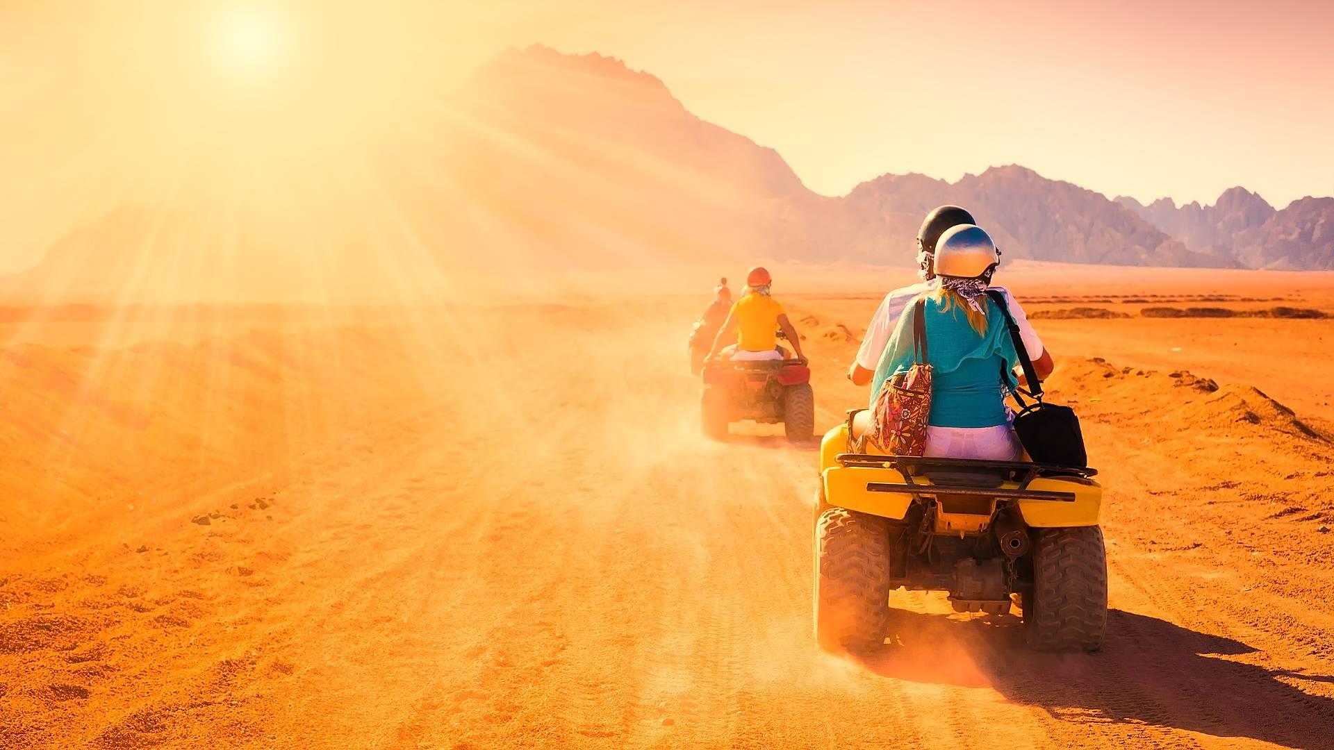 Aventura en quads por el Palmeral y Desierto de Marrakech