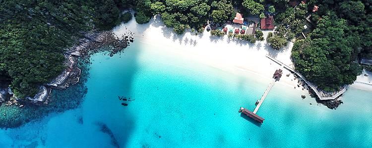Penisola Malese Overland e soggiorno mare all'isola di Redang