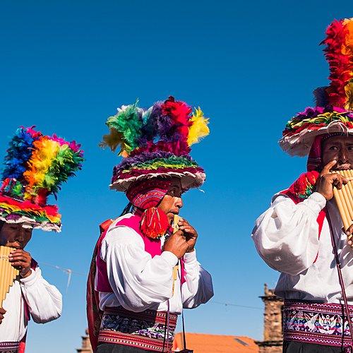 La fête du soleil en petit groupe - Lima -