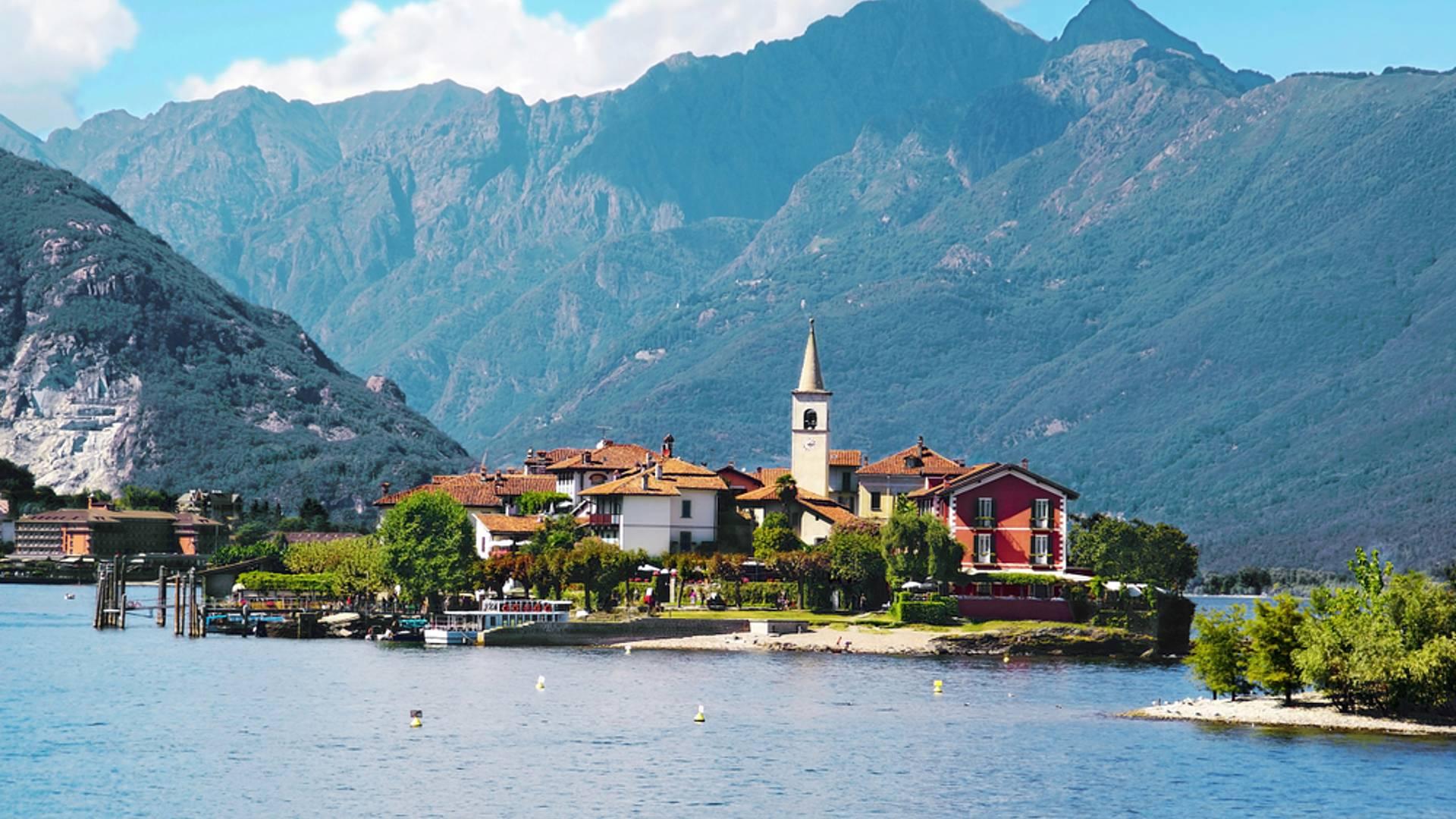 Charmes des grands lacs italiens