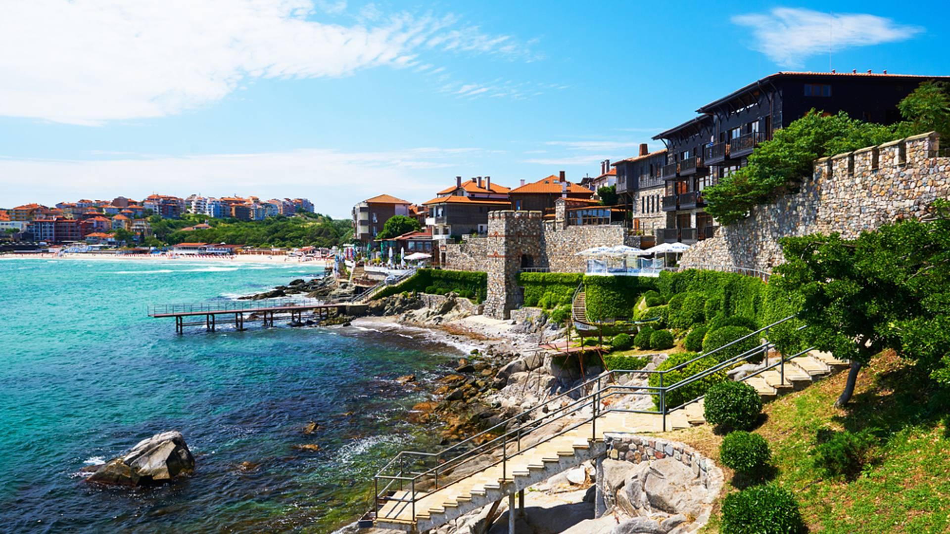 Culture et plage en Bulgarie