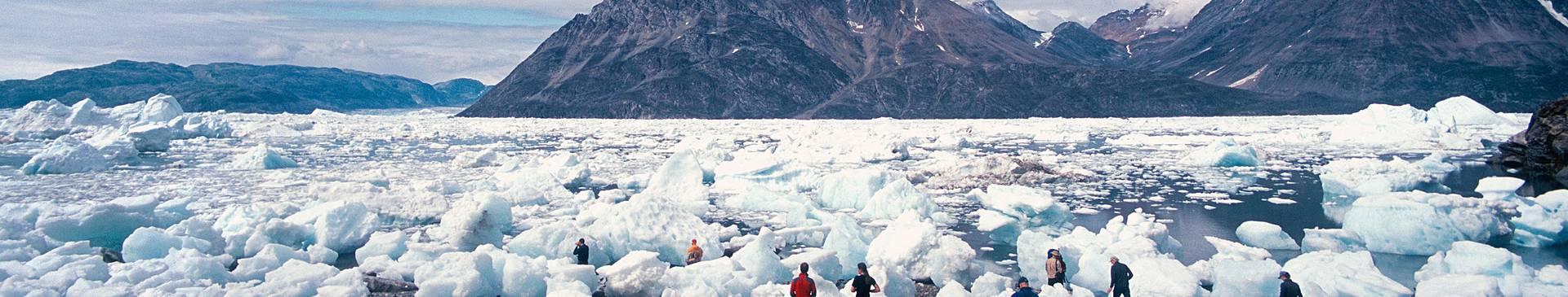 Voyage en groupe au Groenland