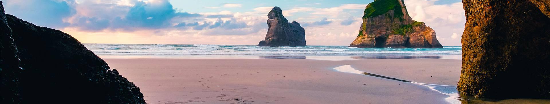 Playas de Nueva Zelanda