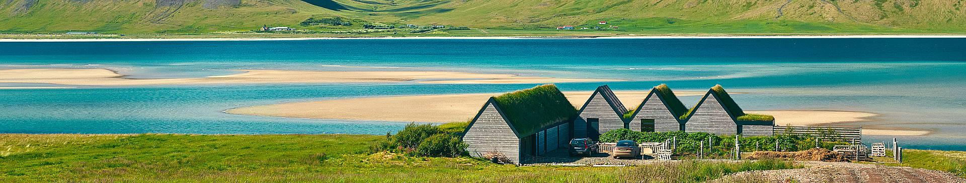 Zonvakantie en zomervakantie in IJsland