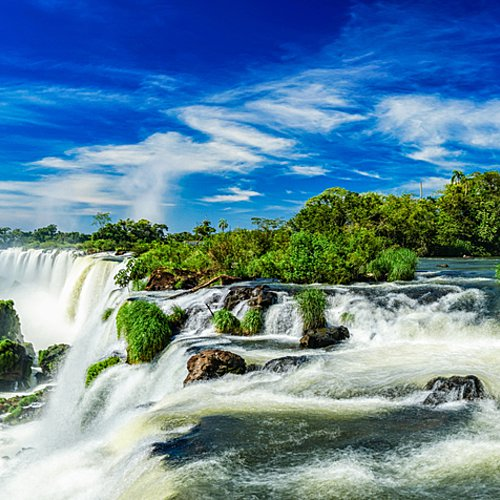 Déserts multicolores et chutes d'eau - Buenos Aires -