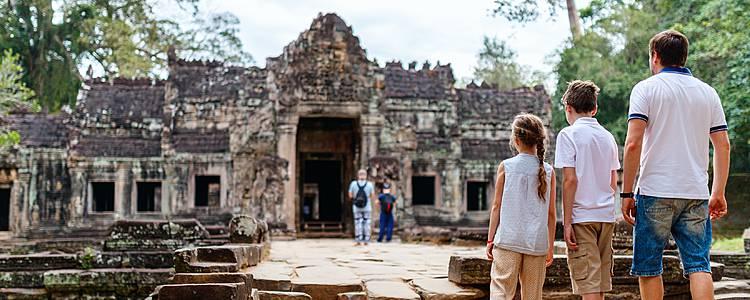 Grande avventura Angkoriana per la famiglia