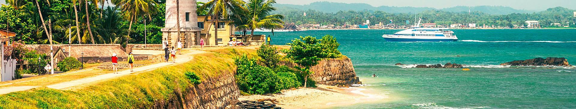 Viaggio al mare in Sri Lanka