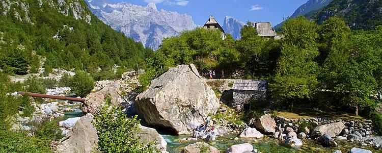 Avventura nelle alpi albanesi