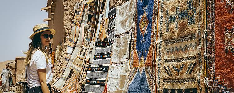 Marrakech con los 5 sentidos