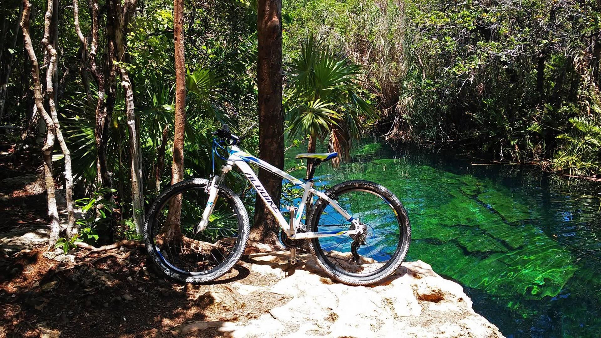 Sur les routes du Yucatan à vélo