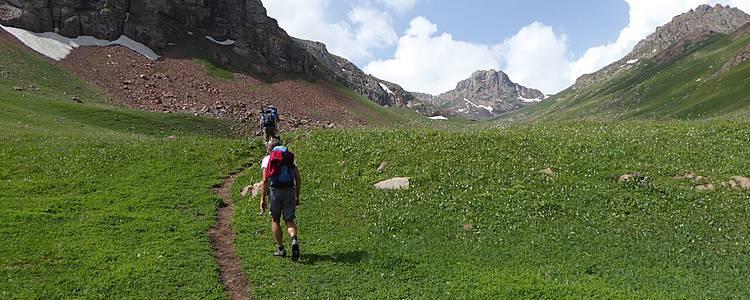 Wandern im Herzen Kirgistans