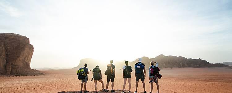 Trekking e cultura in gruppo