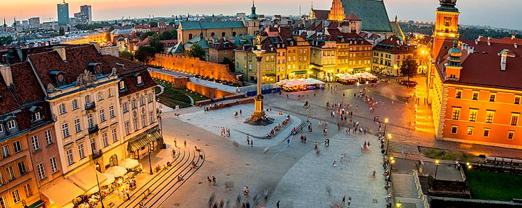 Two Capitals - Krakow and Warsaw