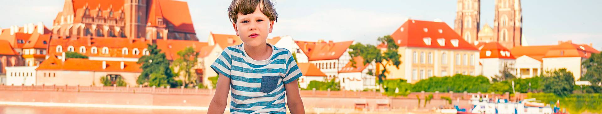 Polonia con niños