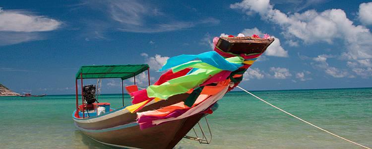 Bangkok und Entspannung auf paradiesischen Inseln im Sommer