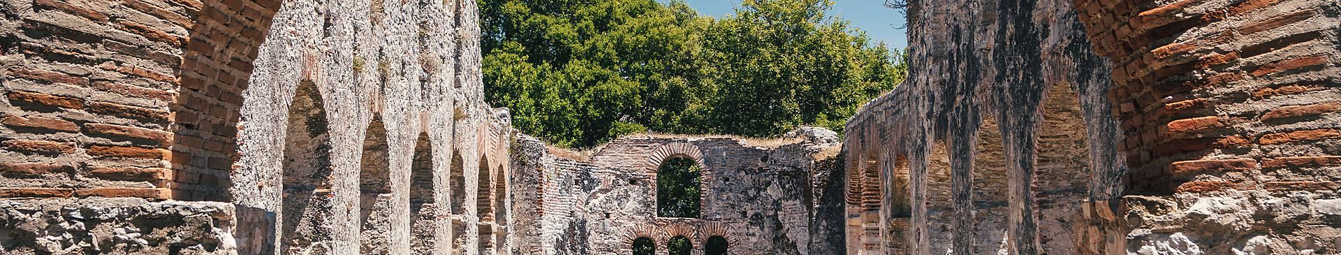 Historical sites in Albania