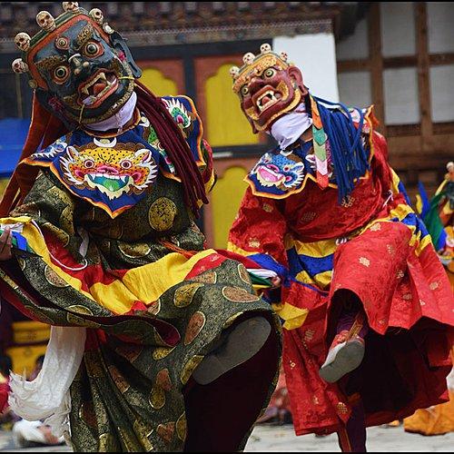 Le festival de Jakar en petit groupe - Thimphou -