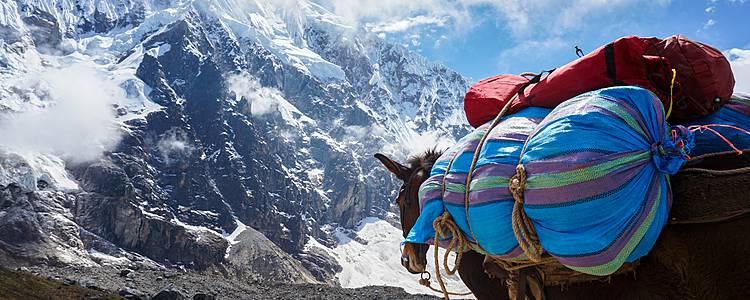 Der Salkantay Trail mit komfortablem Zeltcamps
