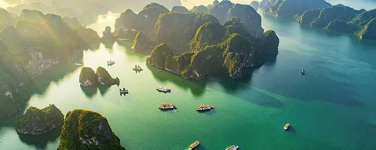 Vietnam y Camboya en grupo reducido