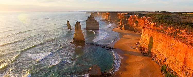 Découverte complète, Côtes sud et Est, Centre Rouge et Sydney