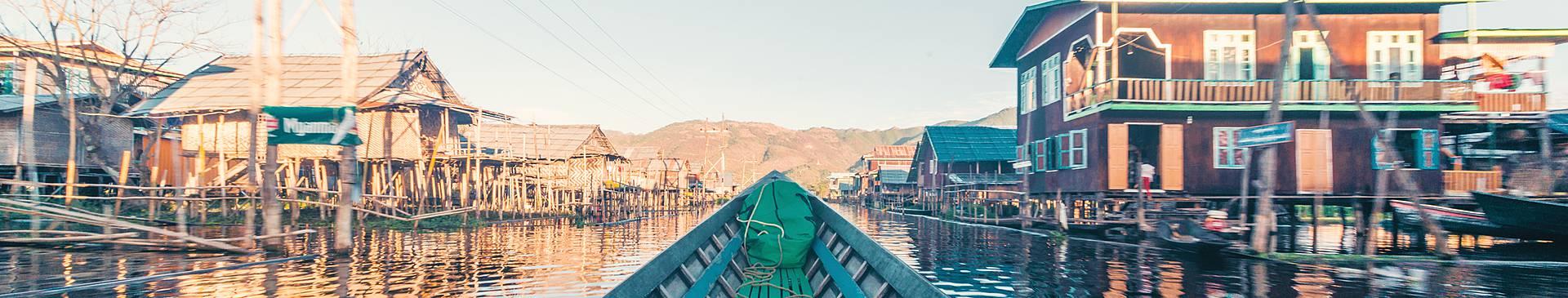 River cruises in Burma