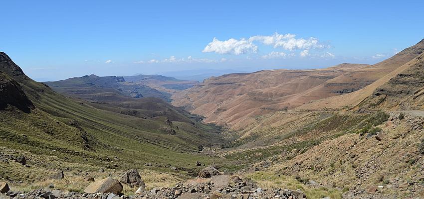 Paisaje de los Drakensberg