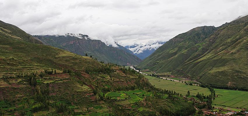 La vallée sacrée près de Pisac