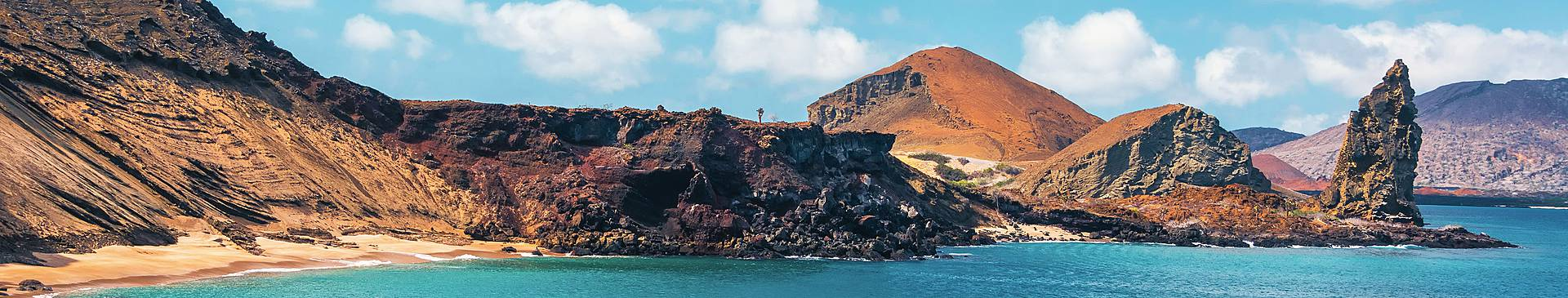 Beaches in the Galapagos Islands