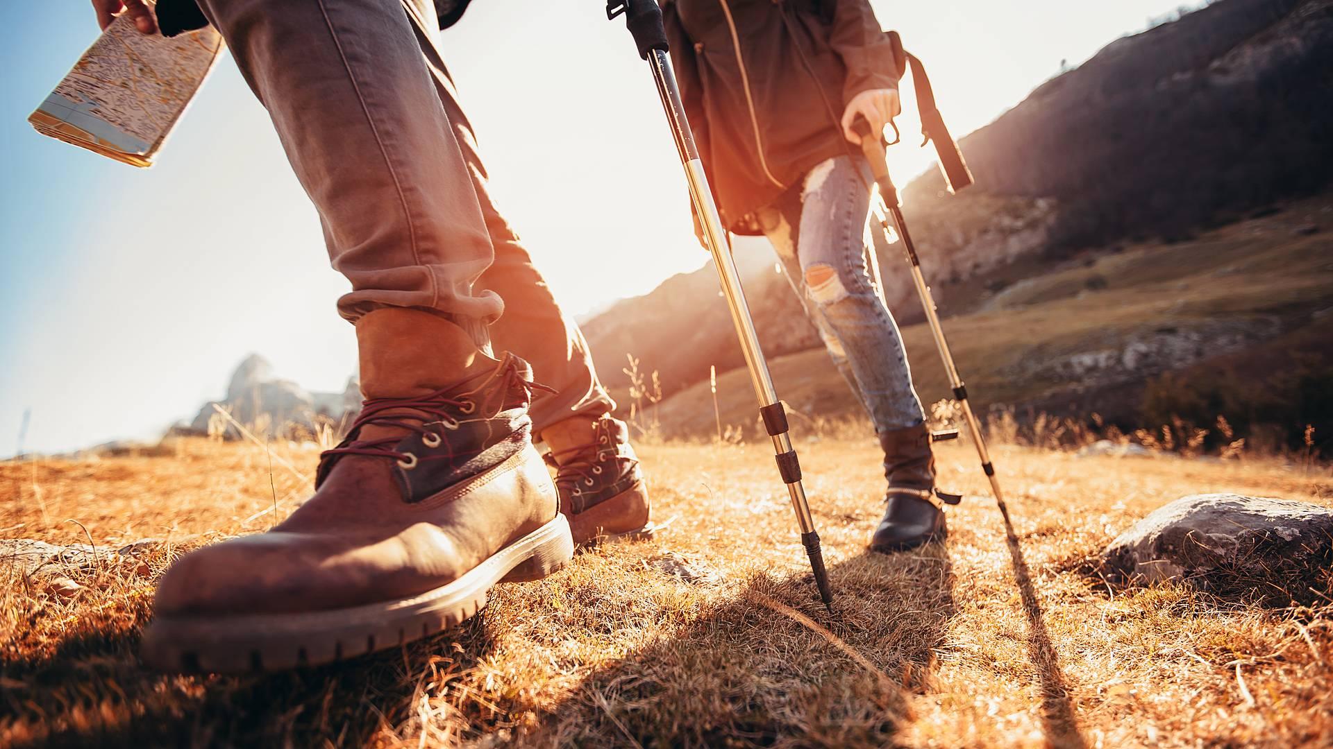 Wandern auf dem High Scardus Trail