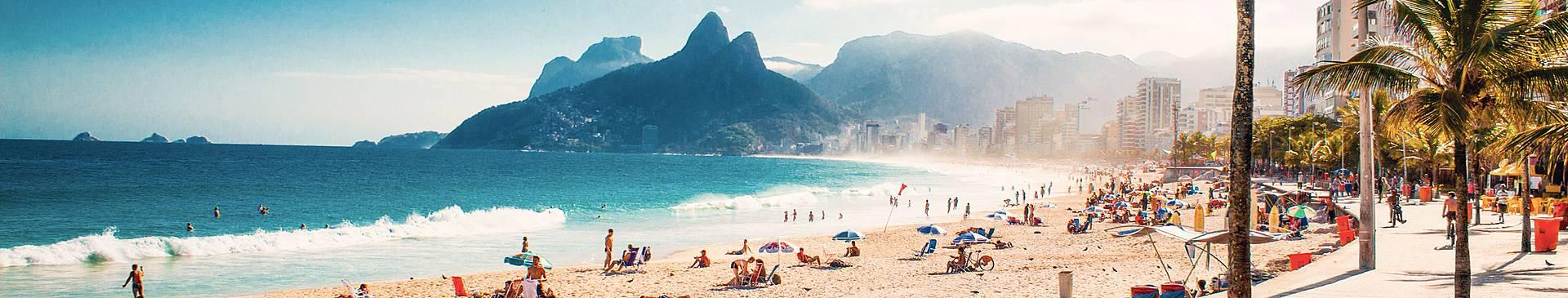 Voyage plage au Brésil