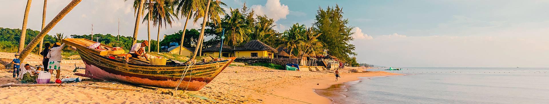 Voyage plage au Vietnam