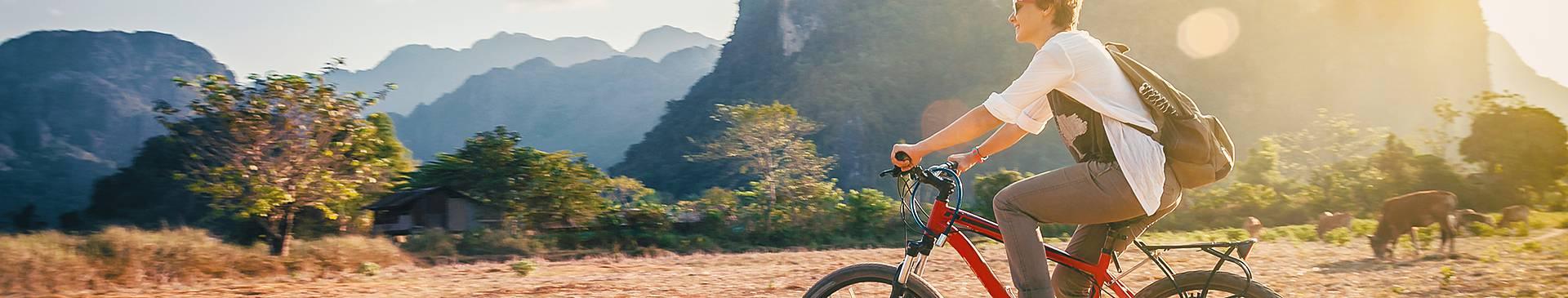 Laos cycling trips