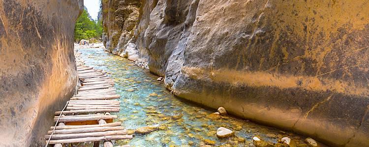 Strände und Berge im Samaria-Nationalpark